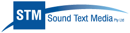 Sound Text Media Logo
